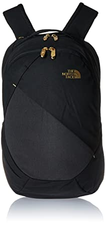 buy popular ee1f0 2c702 Image Unavailable. Image not available for. Colour  The North Face Women s  Isabella Backpack TNF Black Heather 24k Gold ...