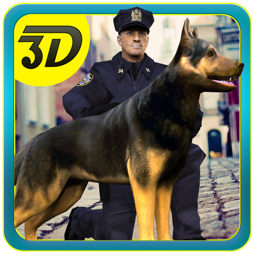 Police Dog Chase 3D