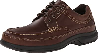 ROCKPORT Men's Banni Mocc-Toe Rugged Oxford