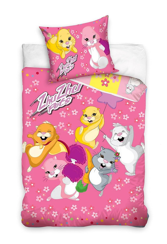 2pièces Parure de lit pour enfant 100x 13540x 60Disney 299Zhu Zhu Pets TFBBK