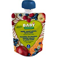 Baby Gourmet Apple Sweet Potato Berry Swirl, 12 Count