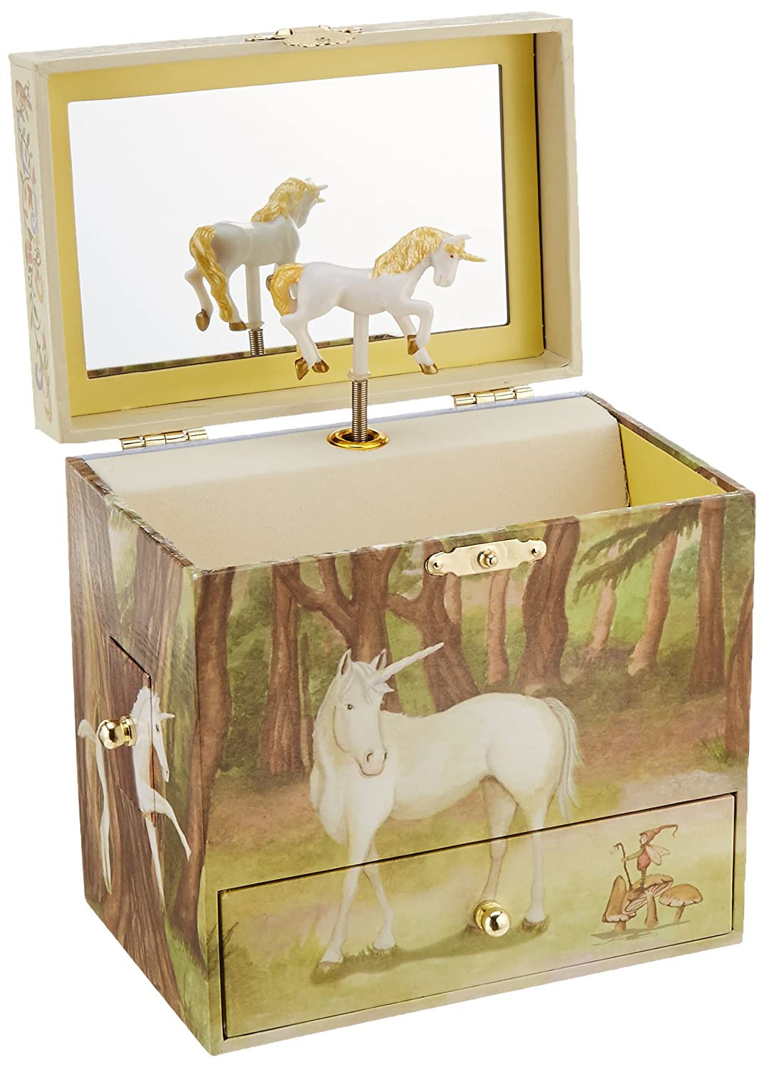 Amazoncom Enchantmints Unicorn Music Jewelry Box Toys Games