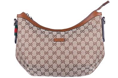 81a8fa0675f13 Gucci Schultertasche Damen Tasche Umhängetasche Bag gg supreme beige ...