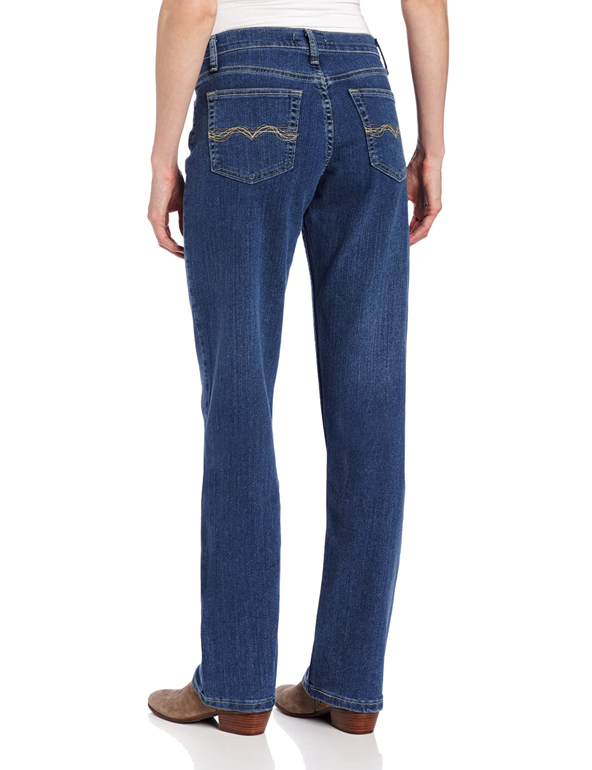 4d07974e Wrangler Women's As Real as Wrangler Relaxed Fit Straight Leg Jean at  Amazon Women's Jeans store