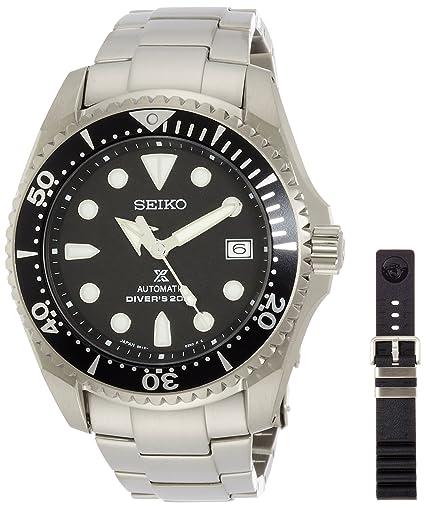 Seiko Prospex SBDC029 Reloj de Pulsera para hombres Reloj de Buceo: Amazon.es: Relojes