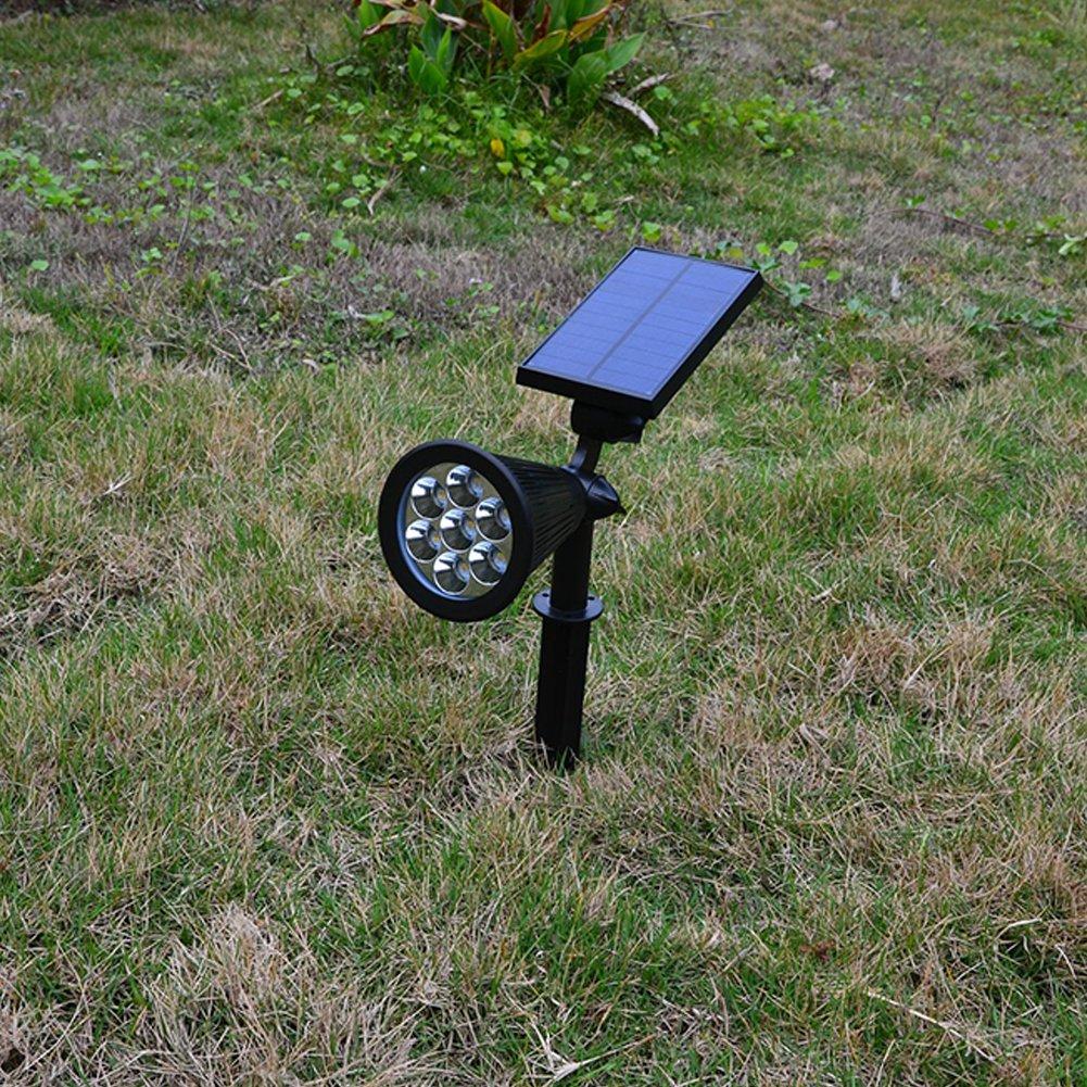 Amazon.com: Amyove Lámpara de Patio para decorar el jardín, luz de energía Solar, Creativo Sensor de luz Solar-Powered Lawn Pin Lámpara Patio Jardín Luz ...