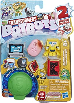Tra Botbots 5Pk Backpack Bunch