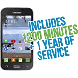 Samsung GALAXY Core Prime Android TracFone with 1200 Minutes/Texts/Data, Triple Minutes for Life