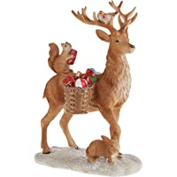 Villeroy & Boch Winter Collage Acc. Deer with Forest Animals, Multicoloured, 14,5x9x21cm