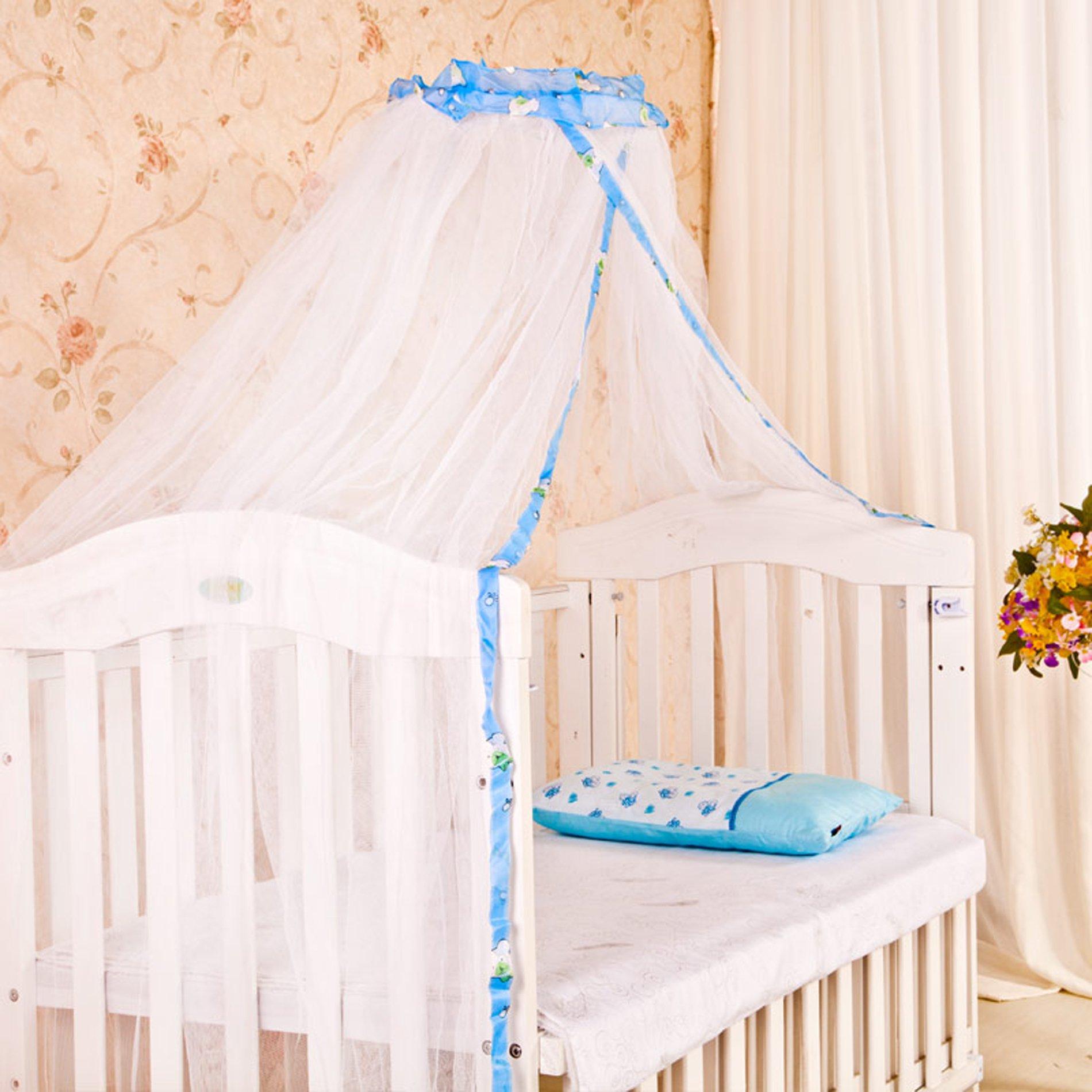 - White Baby Cot Bed Canopy Mosquito Net - Buy Online In Burundi