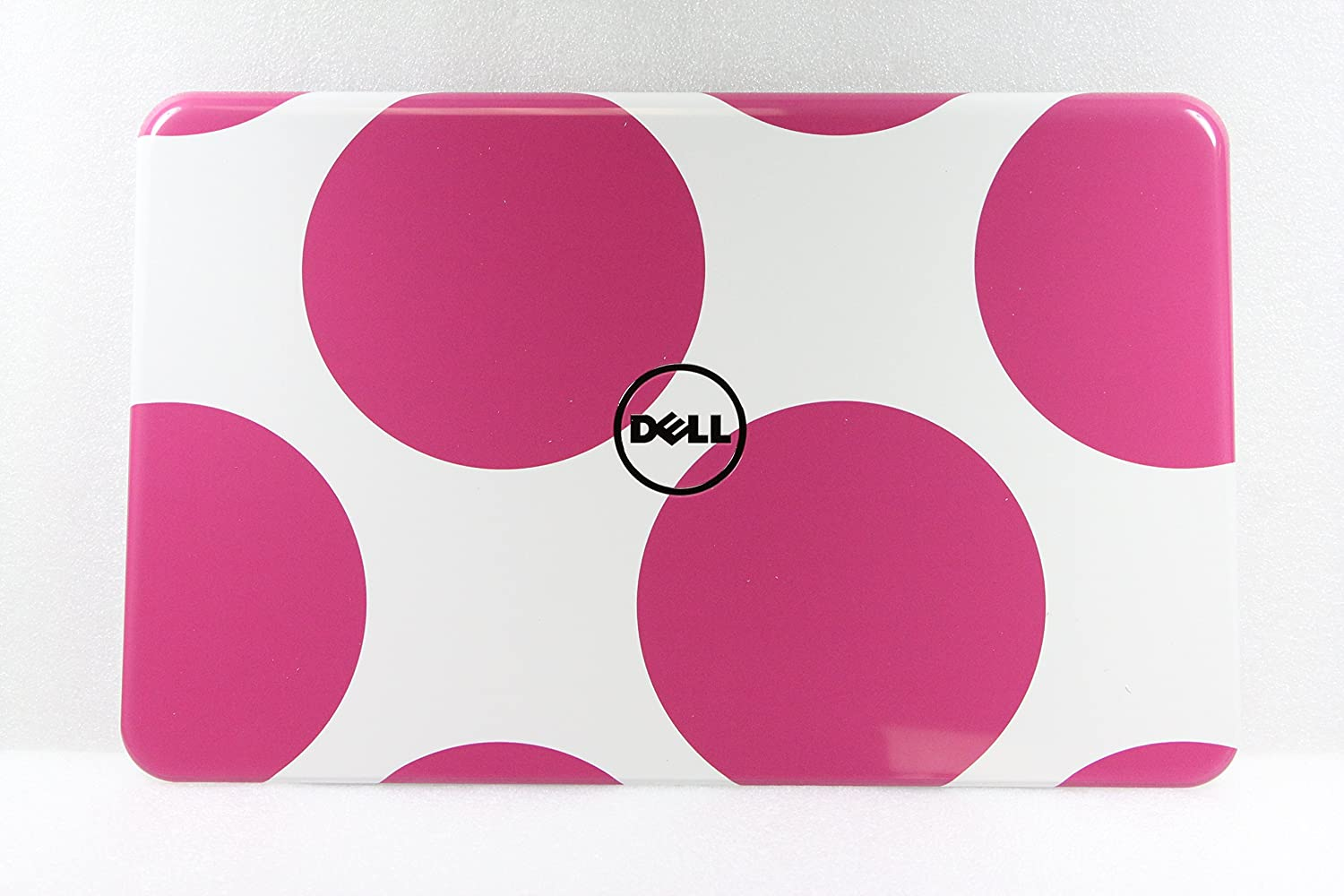 Polka Dot Pink LCD Back Cover For Dell Inspiron 15R N5110 3R6FF CN-03R6FF 03R6FF