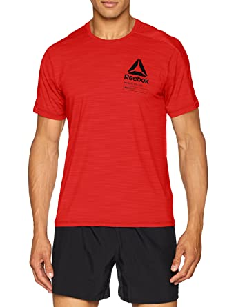 caa6aef34 Reebok Activchill Graphic T-Shirt - SS18 at Amazon Men's Clothing store: