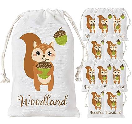 Kreatwow Woodland Party Bags Animal Favor de Regalo Bolsas ...