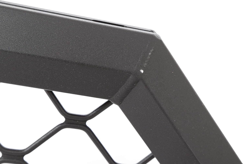 Dee Zee DZ95050RTB Texture Black Aluminum Mesh Cab Rack