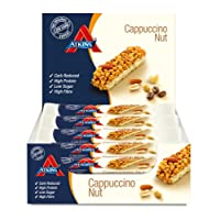 Atkins Cappuccino Nut, Low Carb, High Protein Snack Bar, 15 x 30g