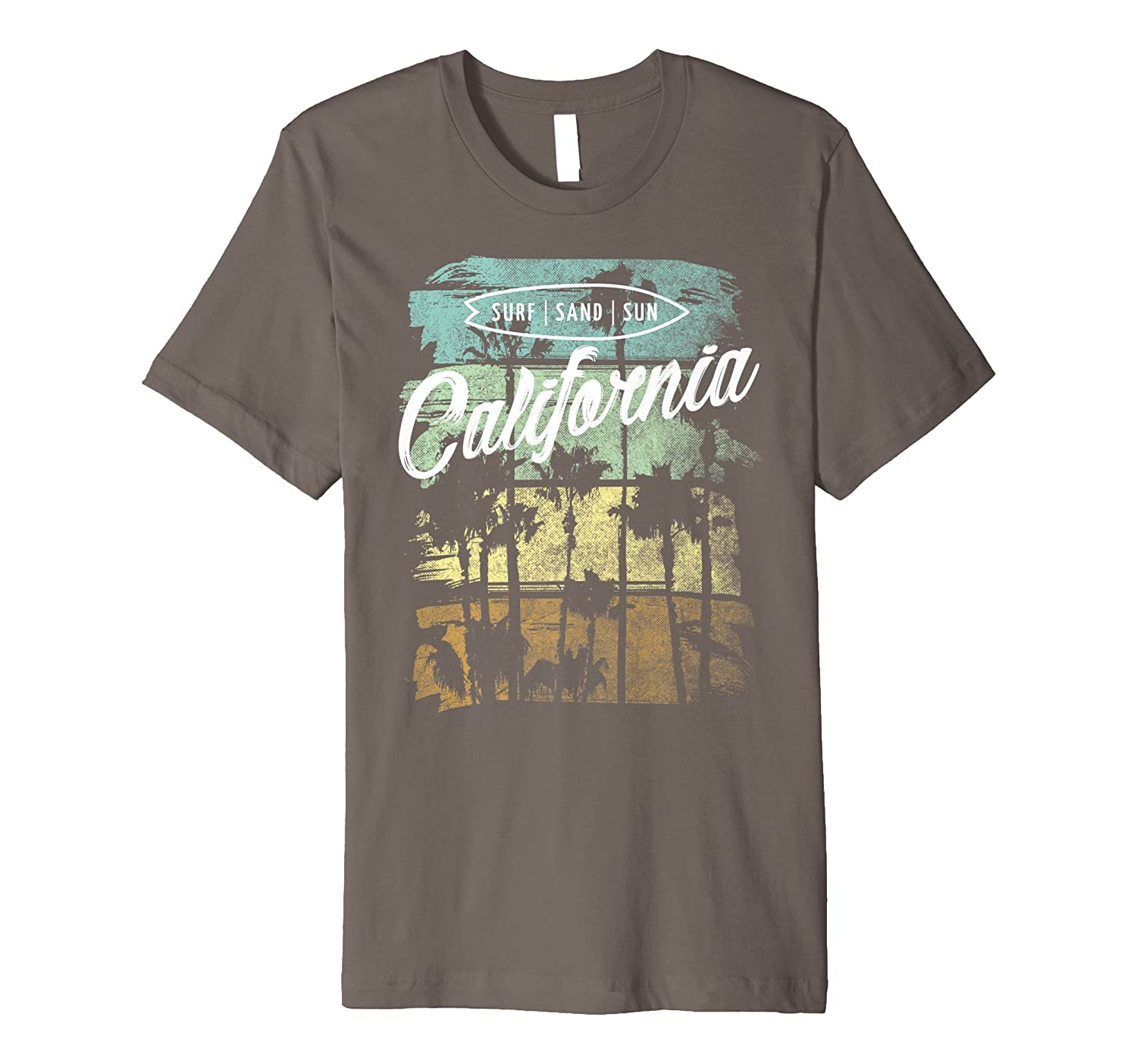 53cd6a0f4 Top8: Vintage California Shirt Surf Sand Sun Retro Beach T-Shirt