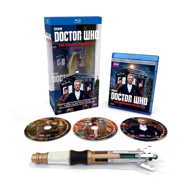 Amazon.com: Doctor Who: Christmas Specials Giftset [Blu-ray ...