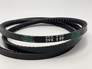 3VX560 Cogged V-Belt 3/8 x 56in Outside Circumference