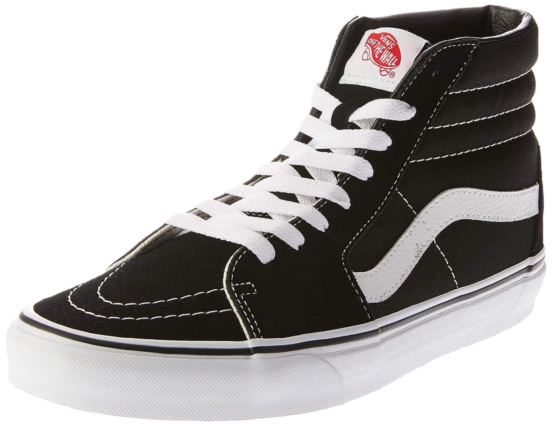Black Black Black Vans Unisex SK8-Hi(tm) Core Classics