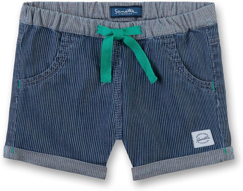 Sanetta Baby Mid Blue 9590 Blau 68 Jungen Shorts Shorts