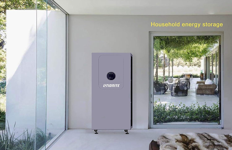 Litionite Guardian Pro 10kWh Batería doméstica PowerWall con inversor/MPPT Todo en uno: Amazon.es: Electrónica