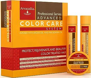 Amazoncom  Advanced Color Care Sulfate Free Shampoo and