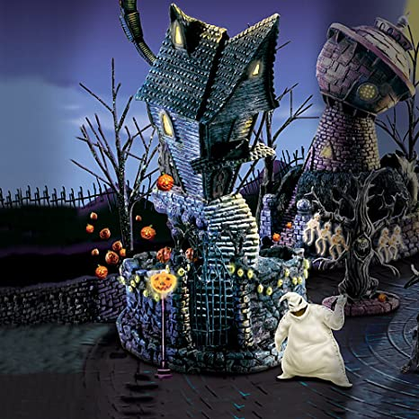 Nightmare Before Christmas Houses.Amazon Com Tim Burton S The Nightmare Before Christmas