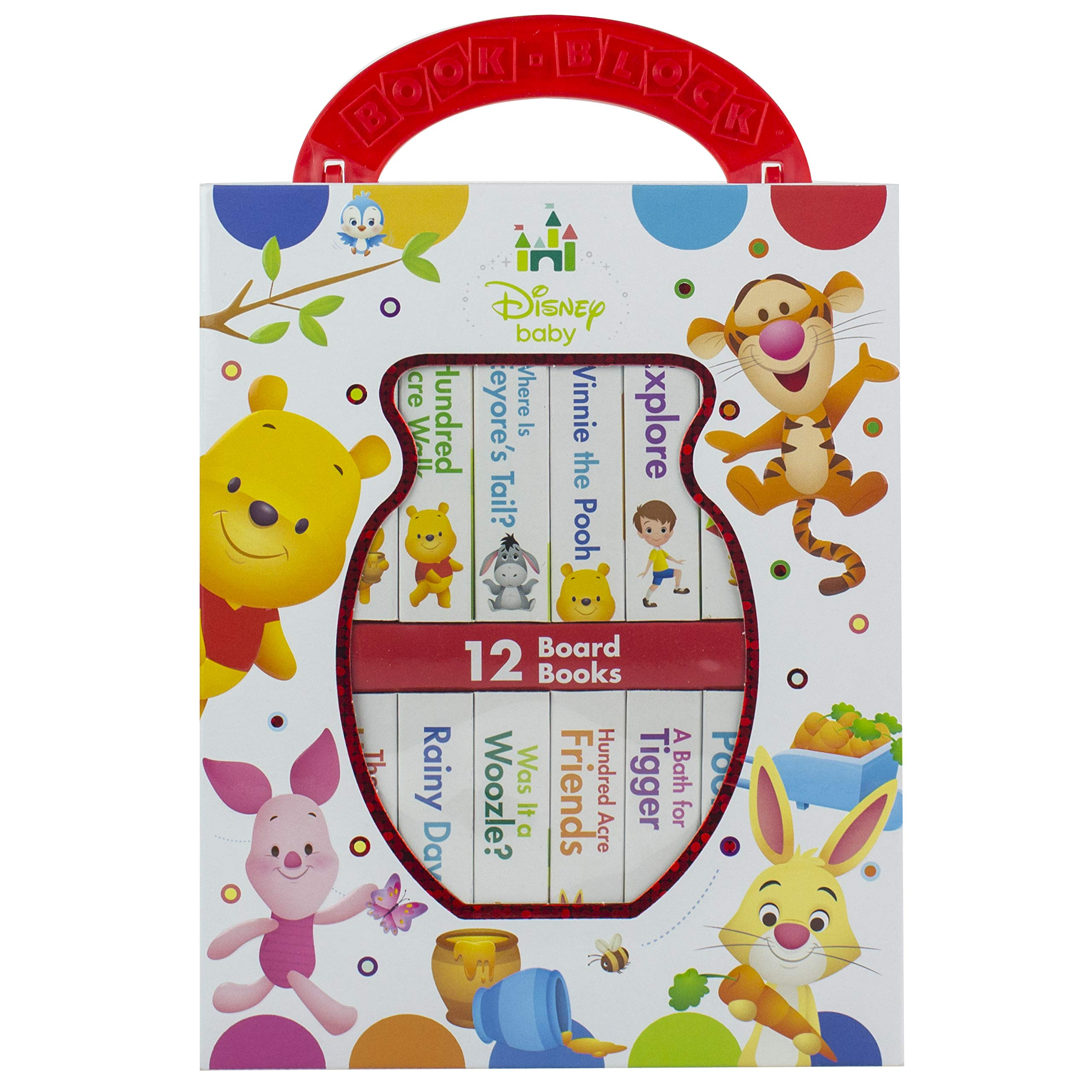 Disney Baby - Winnie the Pooh - My First Library Book Block - PI Kids