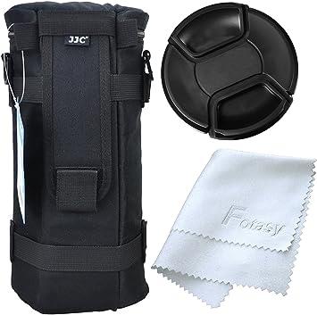 JJC Deluxe Lens Pouch Case Bag for Canon EF 70-200mm 1:4L USM ULTRASONIC//EF 28-300mm 1:3.5-5.6 L is USM//EF 70-300mm 1:4-5.6L is USM//Nikon AF-S NIKKOR 70-200mm 1:4G ED VR