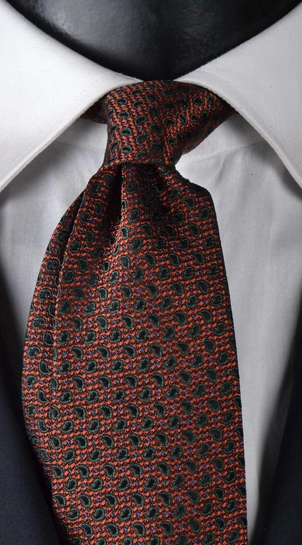 Graffeo Cravatte Corbata para hombre con siete pliegues exclusivos ...