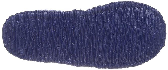 Giesswein Jungen Trochtelfingen Flache Hausschuhe, Blau