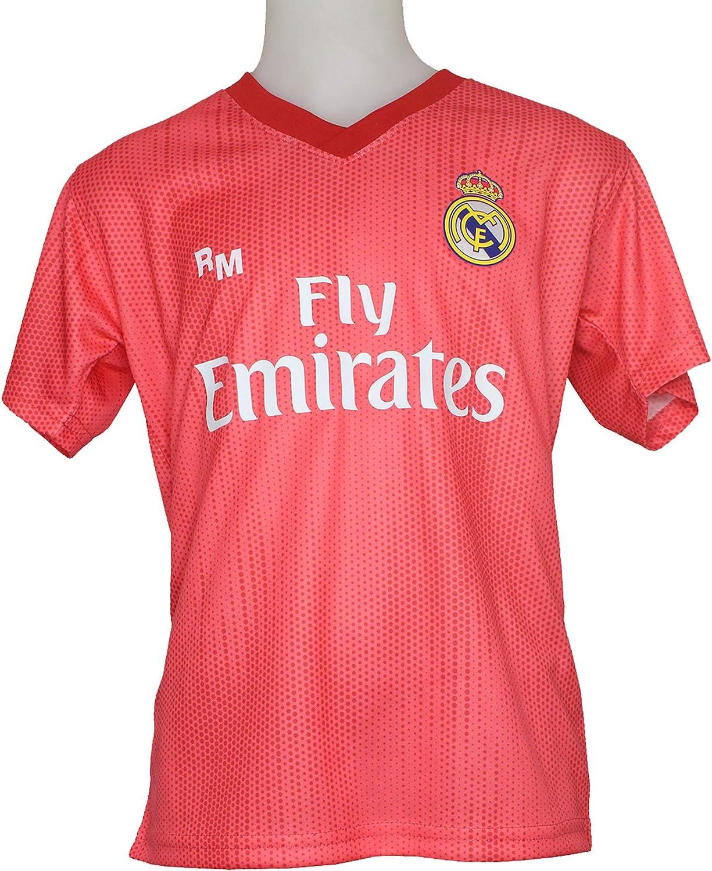 Real Madrid FC Camiseta Infantil Réplica Oficial Licenciado Tercera Equipación 2018/2019: Amazon.es: Deportes y aire libre