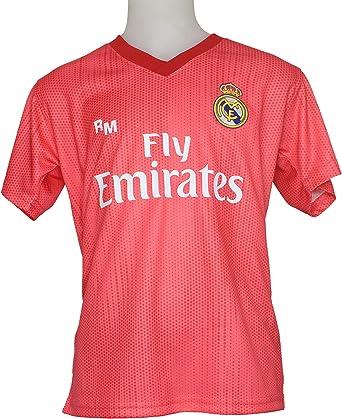 Real Madrid FC Camiseta Infantil Réplica Oficial Licenciado Tercera Equipación 2018/2019