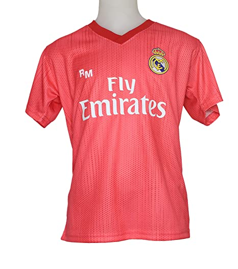 Camiseta - Personalizable - Tercera Equipación Replica Original Real Madrid 2018/2019 (4 años