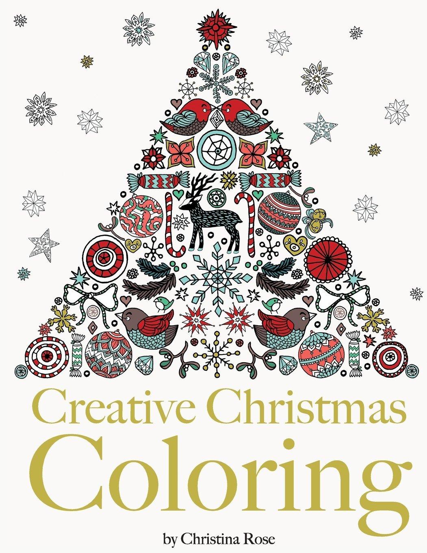 Amazon Creative Christmas Coloring Classic Christmas Themes