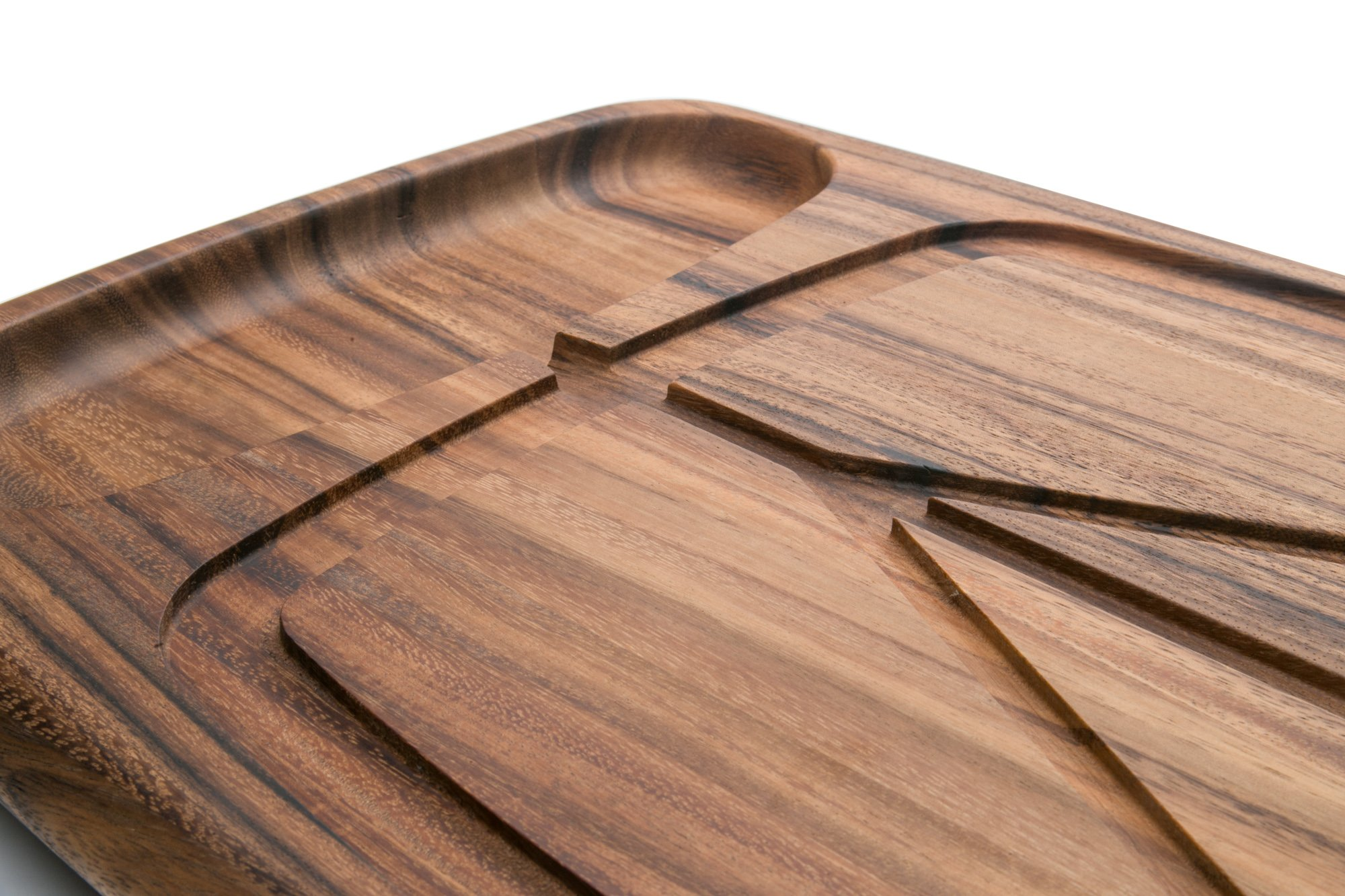 Ironwood Gourmet 28103 Kansas City Carving Board 22'' x 15'' x 1.5'' by Ironwood Gourmet (Image #4)