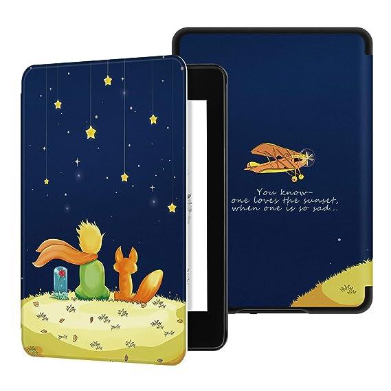 Capa Estampada Novo Kindle 2019 10ª geração - Fecho Magnético (Pequeno Príncipe 1)