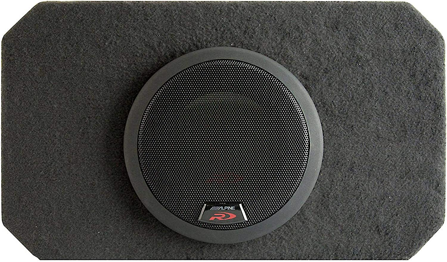 """SBR-S8-4 ALPINE 8/"""" SUB SINGLE PORTED ENCLOSURE LOADED WITH TYPE-R SUBWOOFER BOX"""