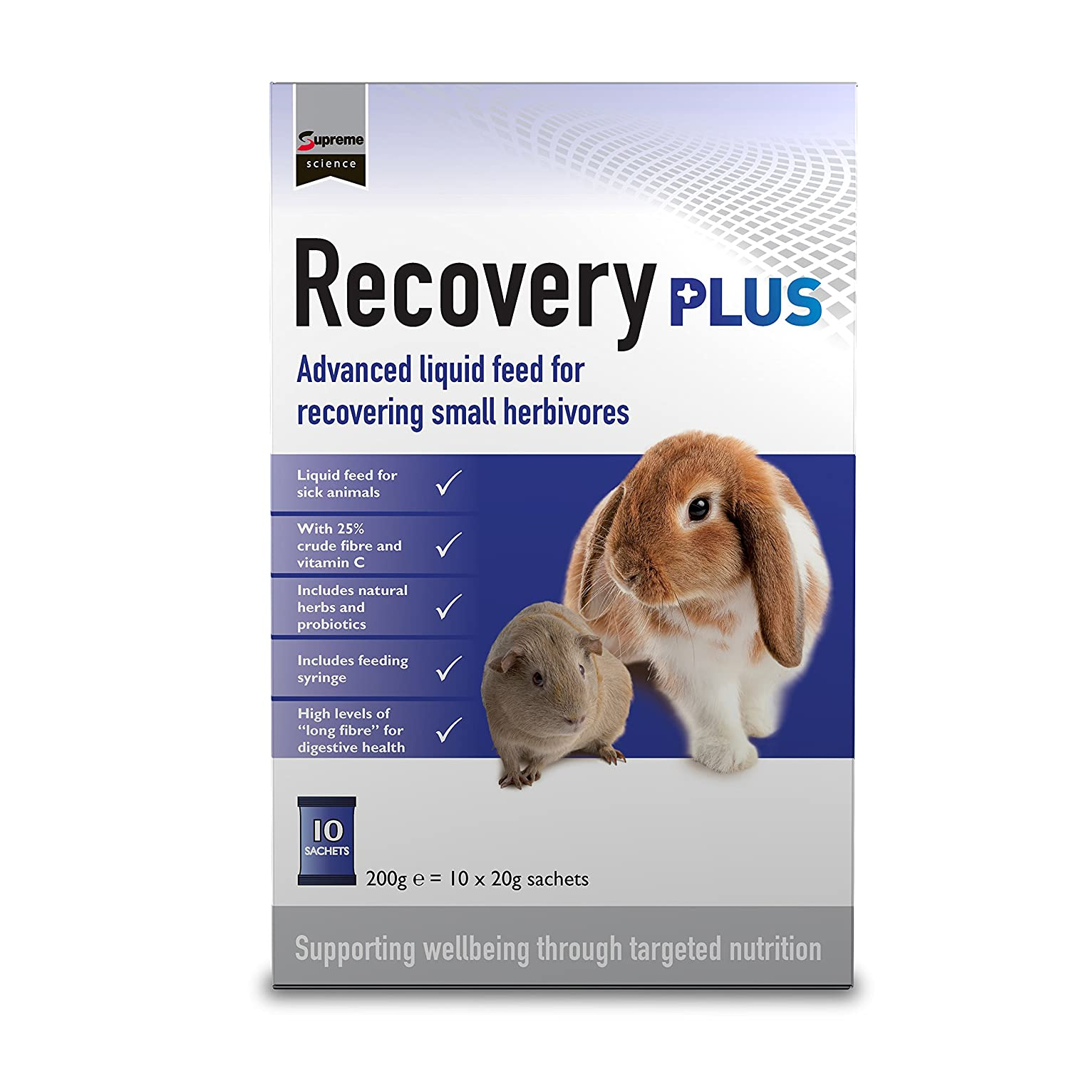 Supreme Petfoods Recovery Plus Nutritional Support Sachets (4 Pack)
