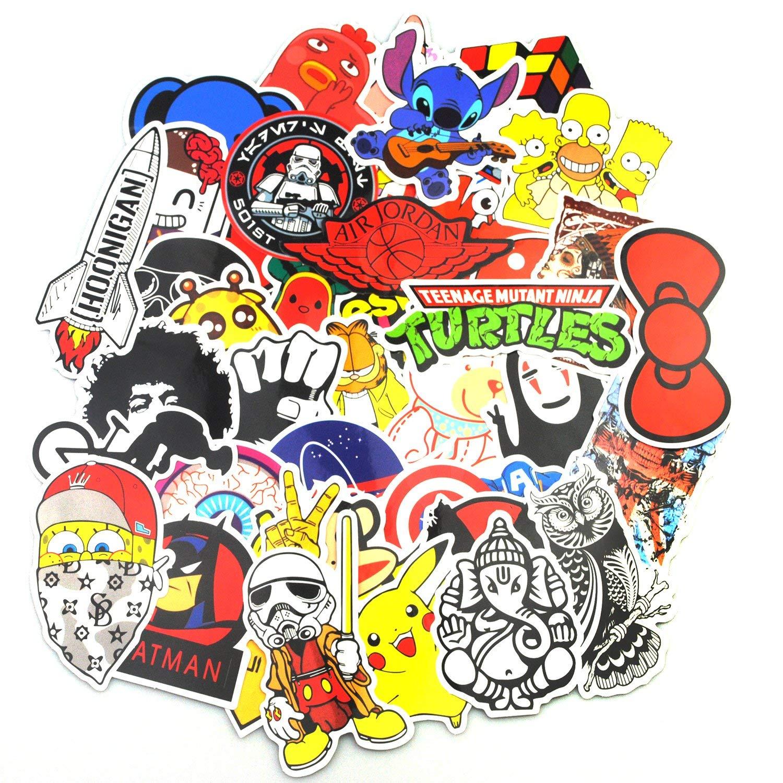 Sticker Pack (200-pcs), neuleben Graffiti adhesivo vinilos ...