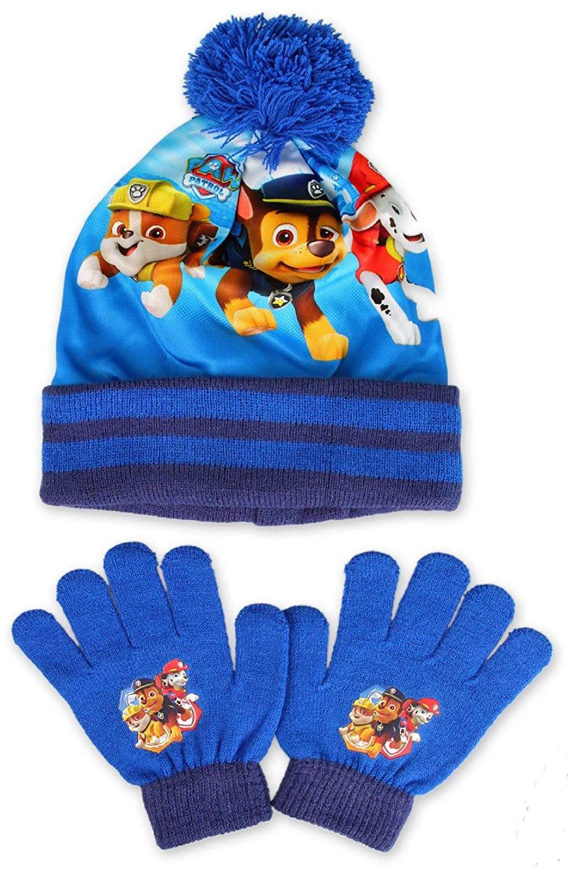 DISNEY, - Set de bufanda, gorro y guantes - para niño Azul azul