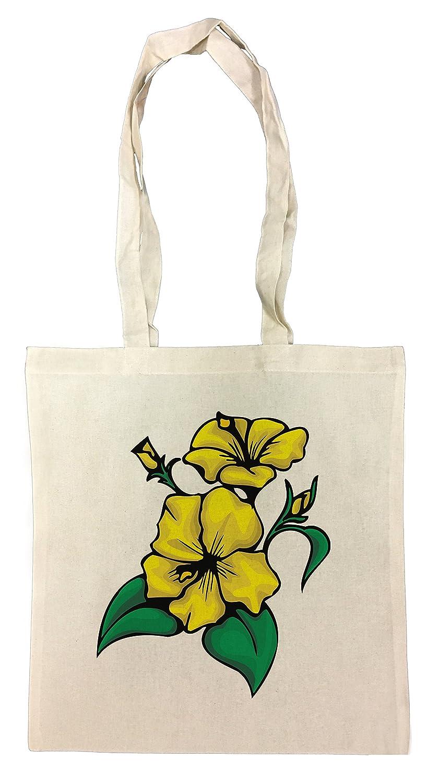 Erido L\'omosessuale giallo Flower Borse Riutilizzabili Per La Spesa Shopping Bag For Graceries