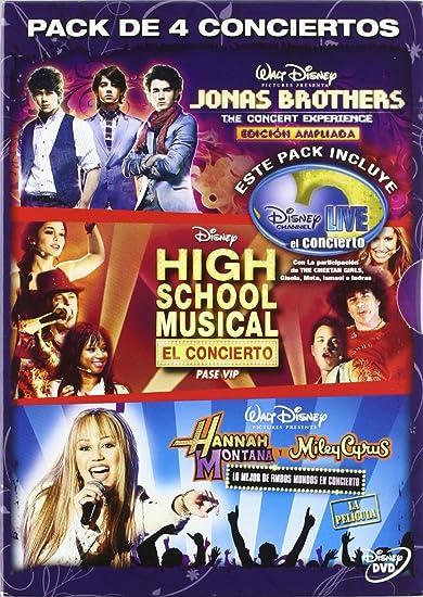 Pack conciertos disney channel [DVD]: Amazon.es: Varios: Cine y Series TV