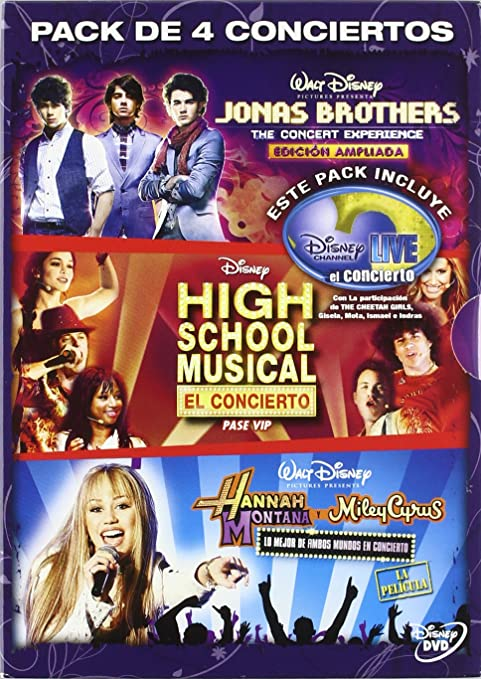 Pack conciertos disney channel [DVD]: Amazon.es: Varios: Cine y ...