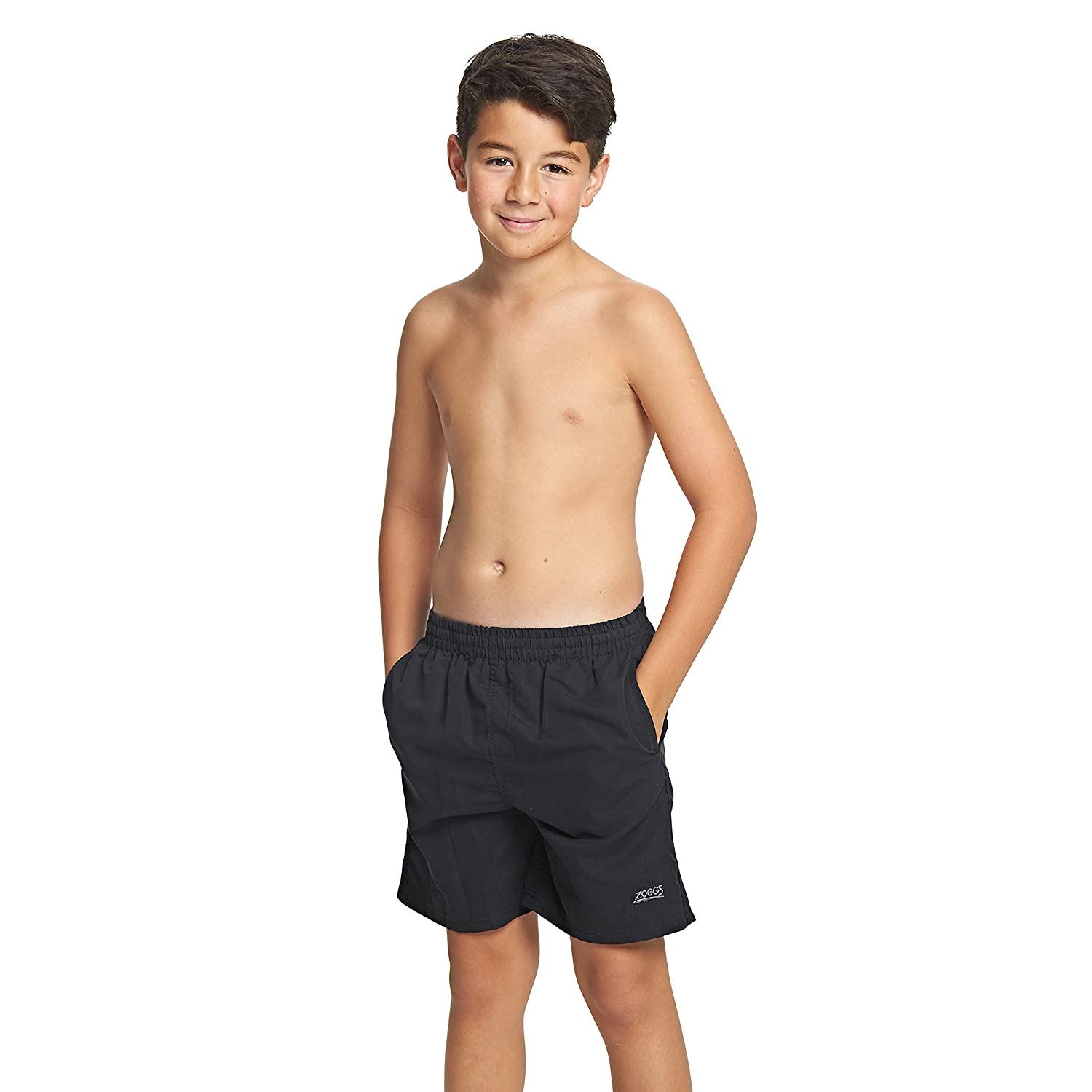 Zoggs Penrith Kids Swim Shorts Large Black 6566001