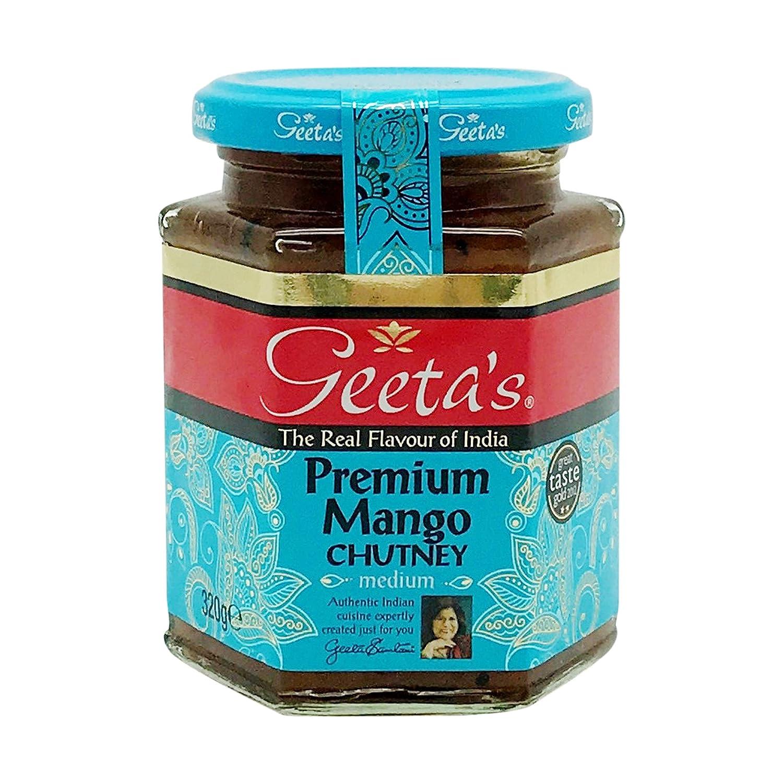 Geeta's, Chutney Mango, 11.29 Ounce