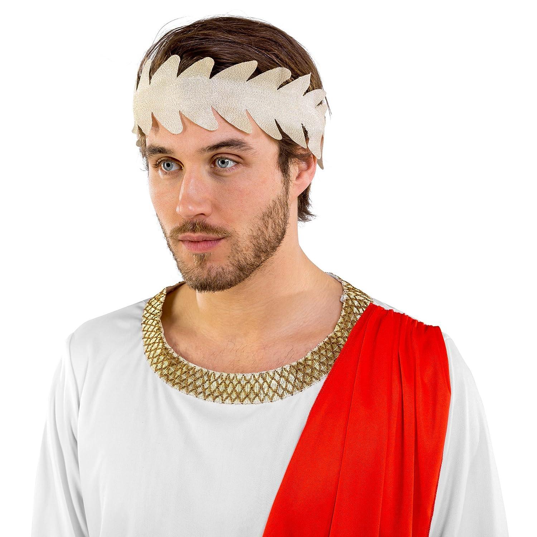 dressforfun Disfraz para Hombre Emperador Romano Rey ...
