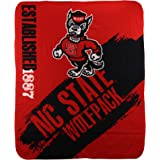 NCAA Collegiate School Logo Fleece Blanket