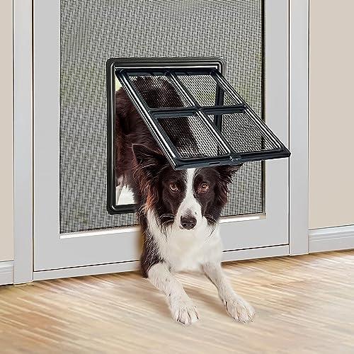 Namsan-Hundeklappen-für-Fliegengittertür-Einfach