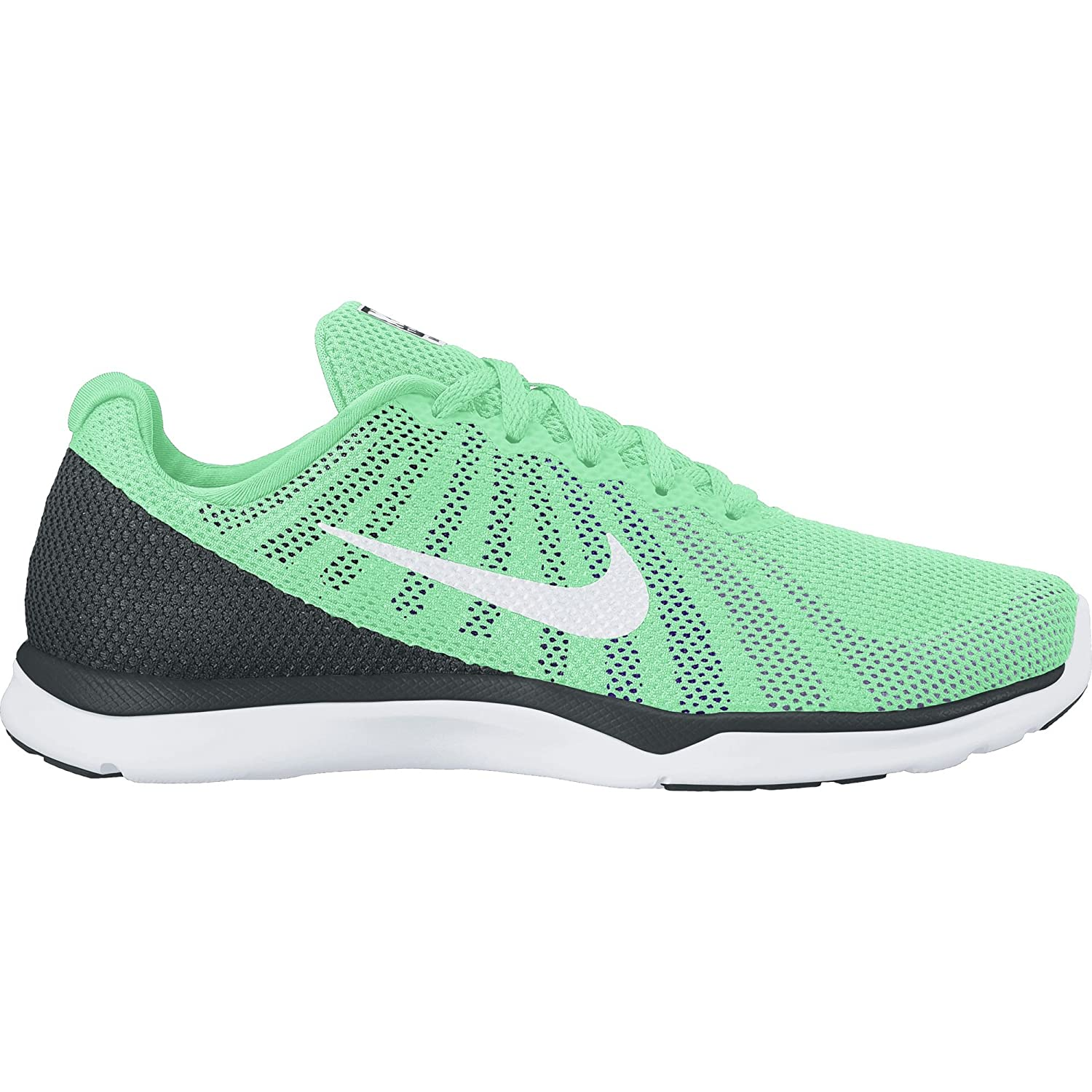 NIKE Women's in-Season TR 6 Cross Training Shoe B01DL3XY8C 8 B(M) US|Green Glow/White/Urban Lilac/Force Purple